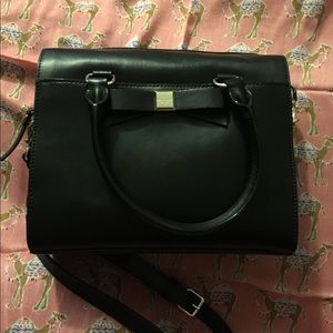 KS Ashton Montfort Park smooth leather satchel